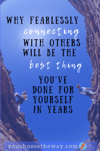 fearssly connecting will be the best