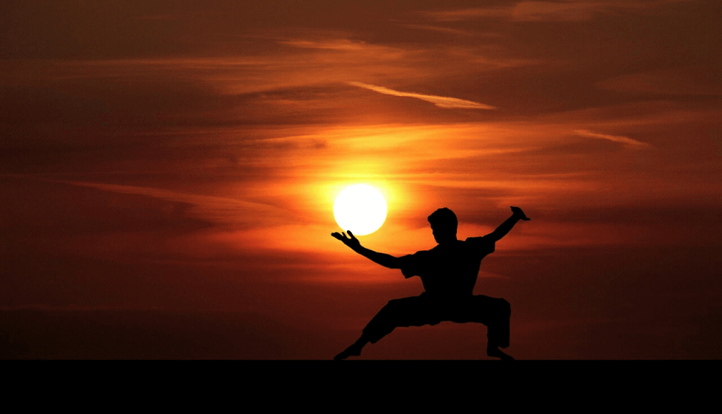 Meditation requires pacience, like Kung Fu does