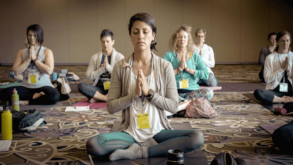 Meditation tip Go to a class