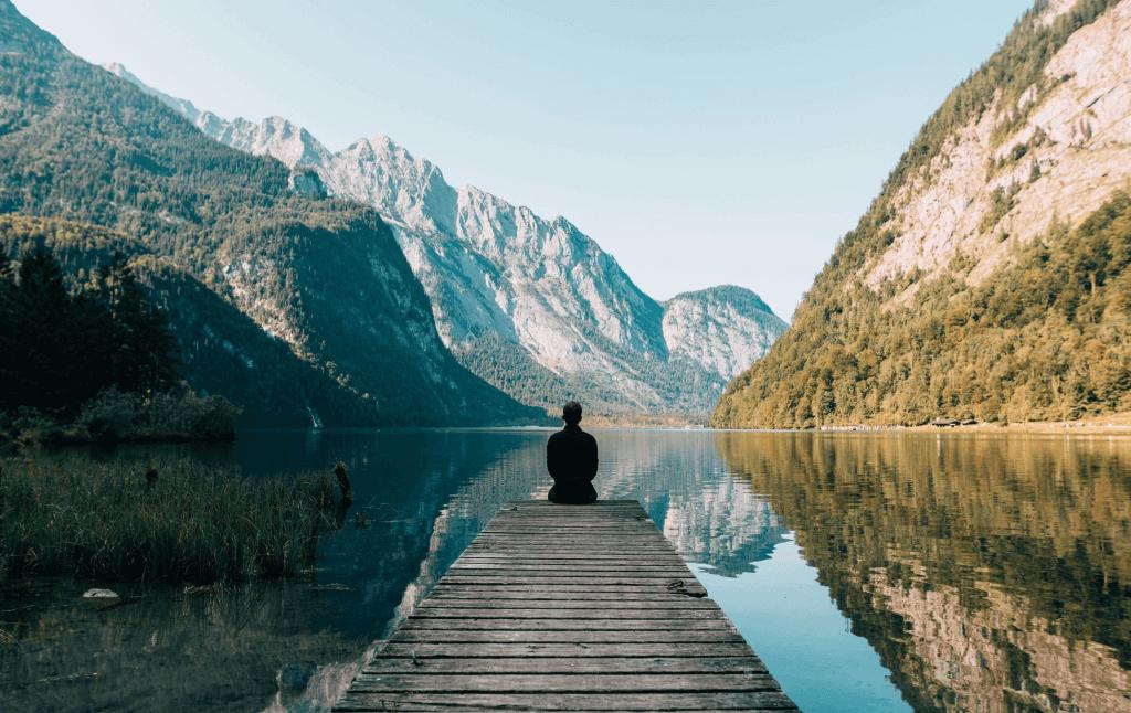 Meditation tip Meditate where you feel love