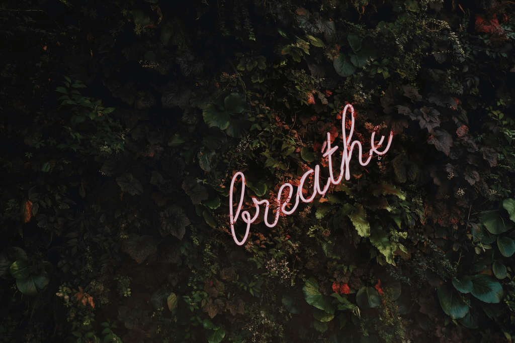 Meditation tip Use the breath as your focus