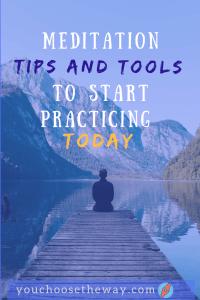 Meditation tips and tools