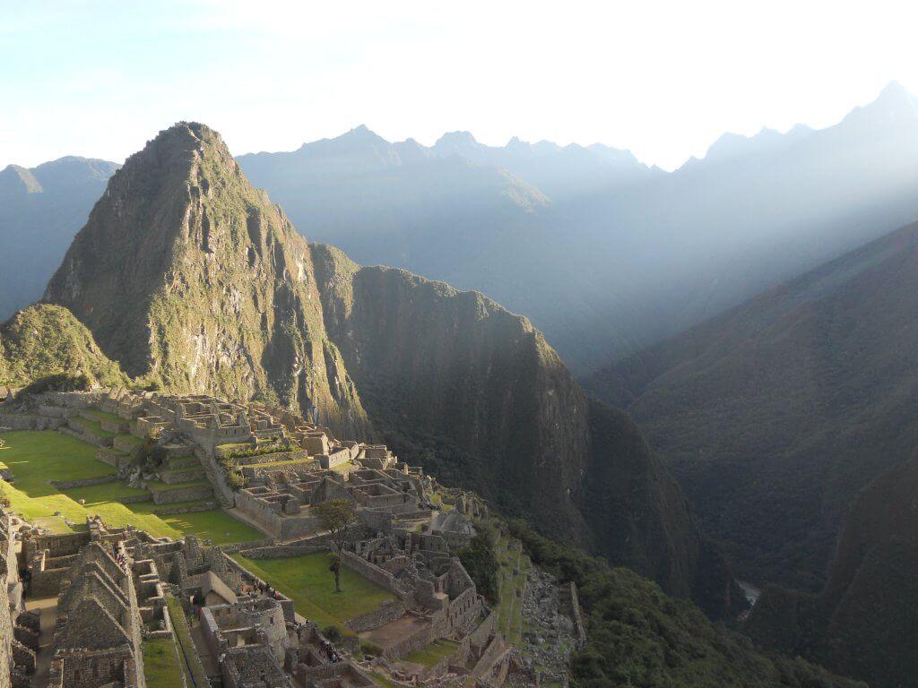 In Machu Pichu