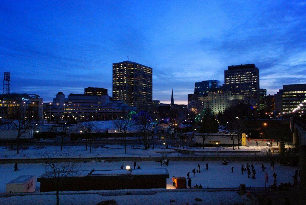 In Ottawa in winter