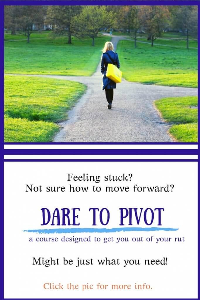 Dare to Pivot - widget