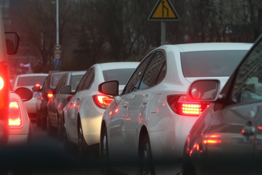 stop being negative about traffic jams